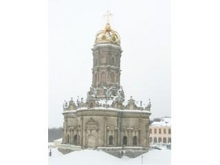 Усадьба Дубровицы. Церковь Знамения.